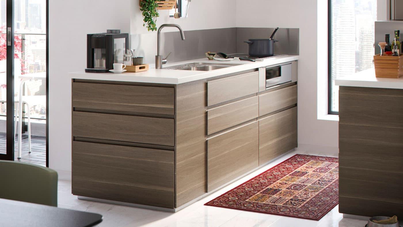 Voxtorp Walnut Effect Kitchen Ikea