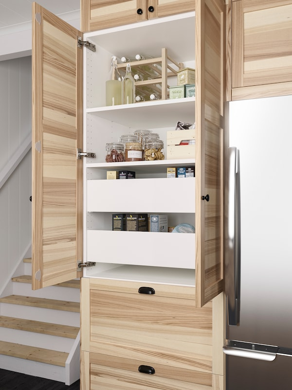 A Simple And Functional Torhamn Natural Ash Kitchen Ikea Ca