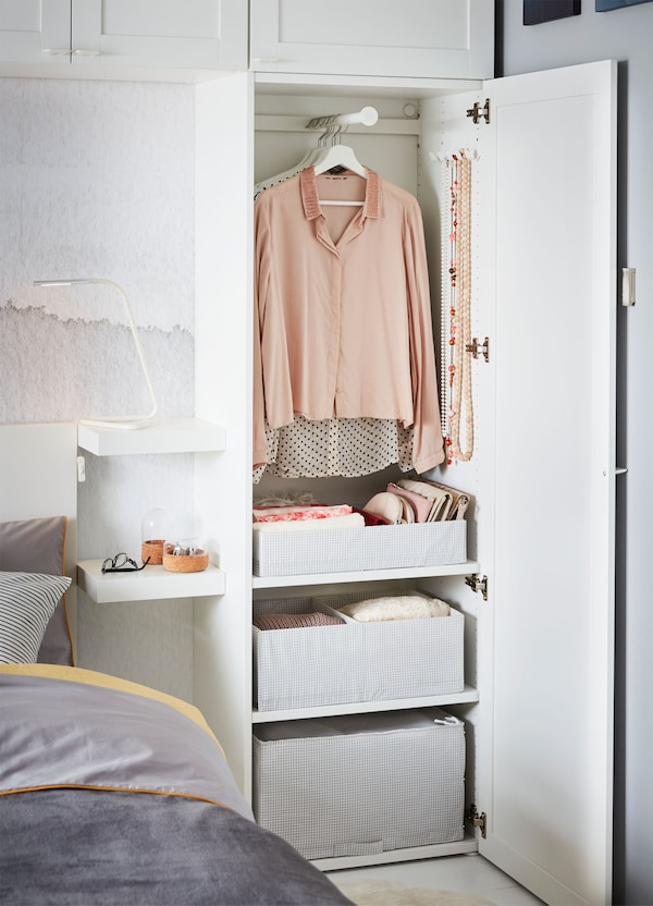 Create your own bedroom storage - IKEA
