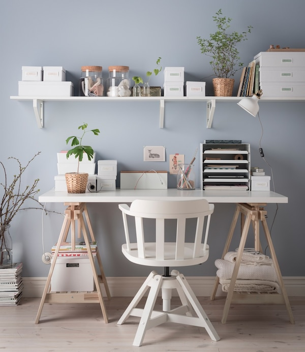 3 Ways To Organise Your Desk Ikea