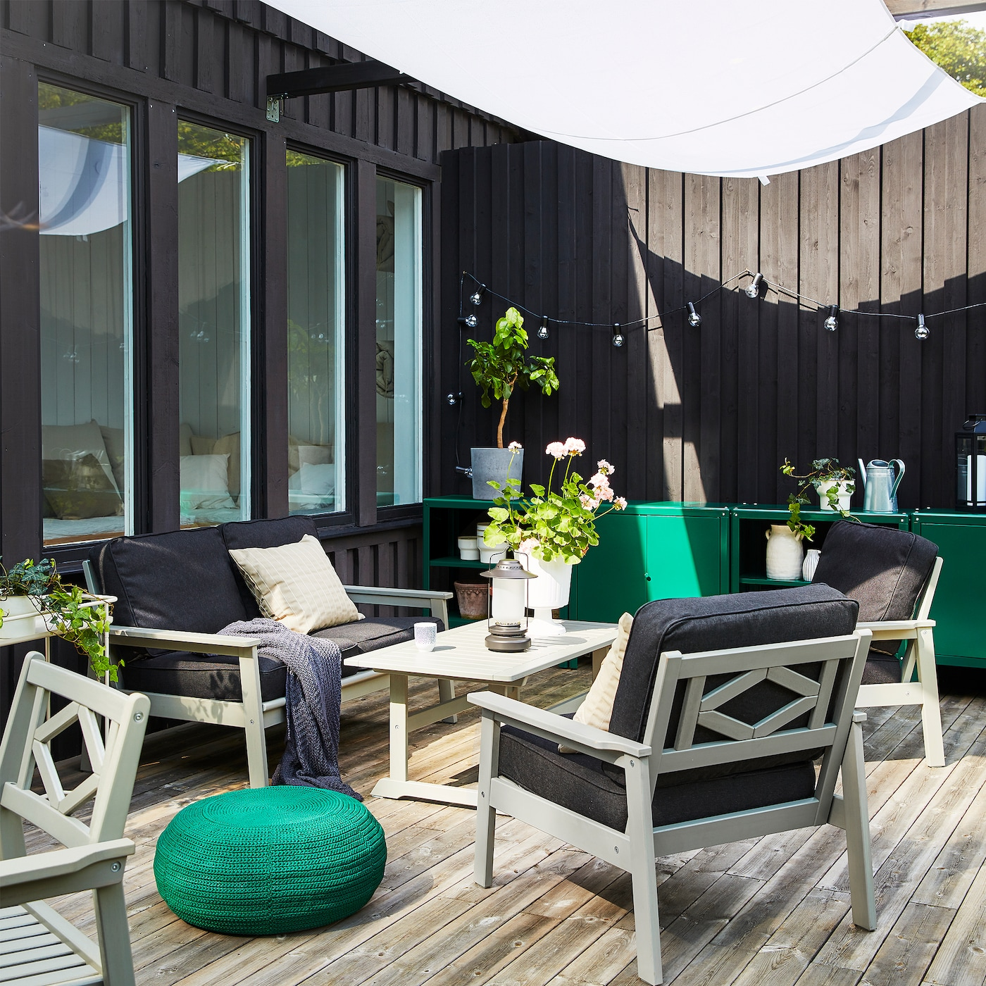 A stylish and spacious outdoor space IKEA