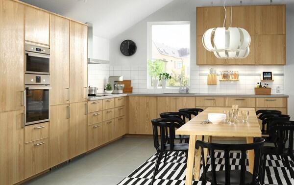 Ante Cucina Ikea Su Misura.Cucina Componibile Ekestad Rovere Ikea It