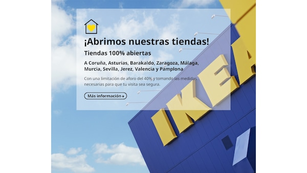 Apertura tiendas IKEA