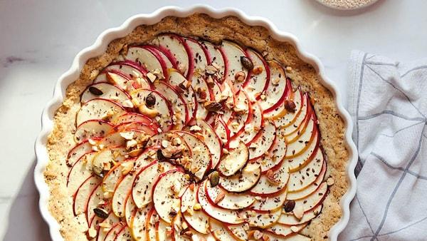 Apfelkuchen in VARDAGEN Backform