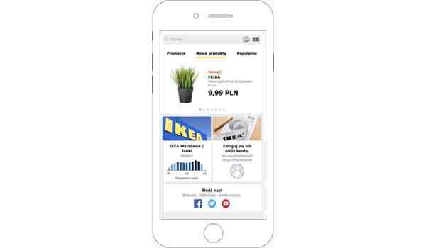 Aplikacja IKEA