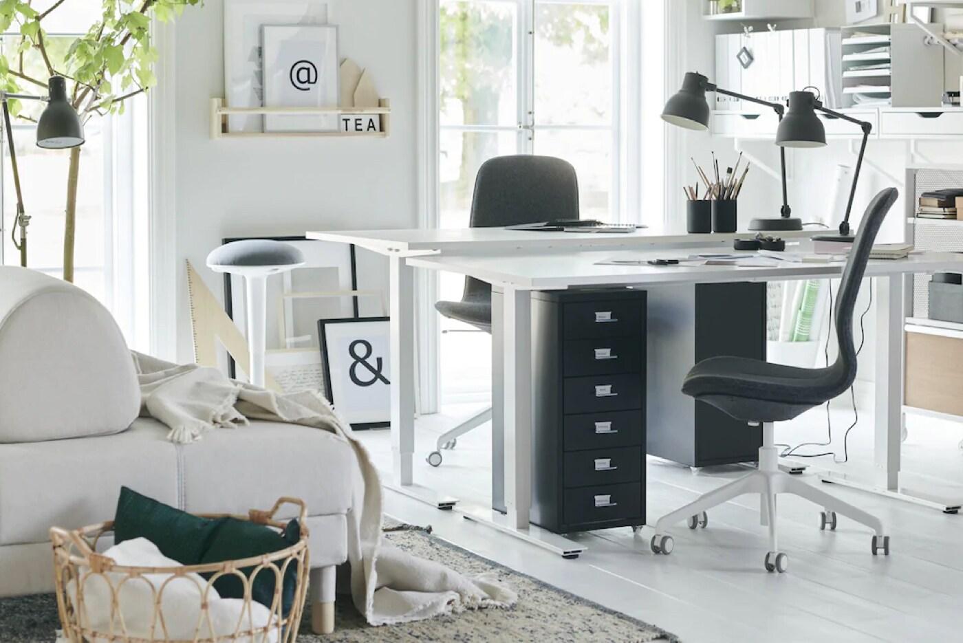 Buromobel Buroeinrichtung Fur Dein Arbeitszimmer Ikea Deutschland