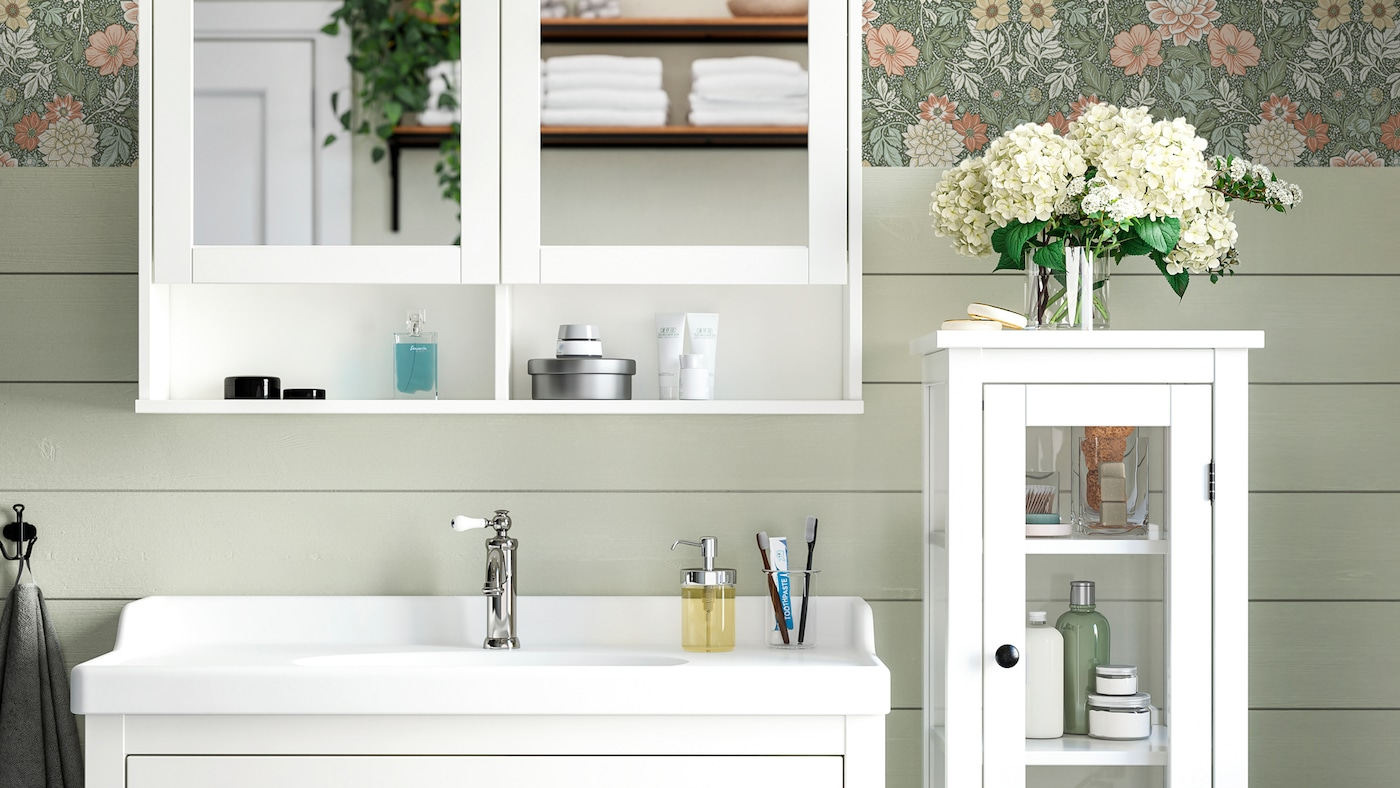 ikea muebles auxiliares de baños y toalleros