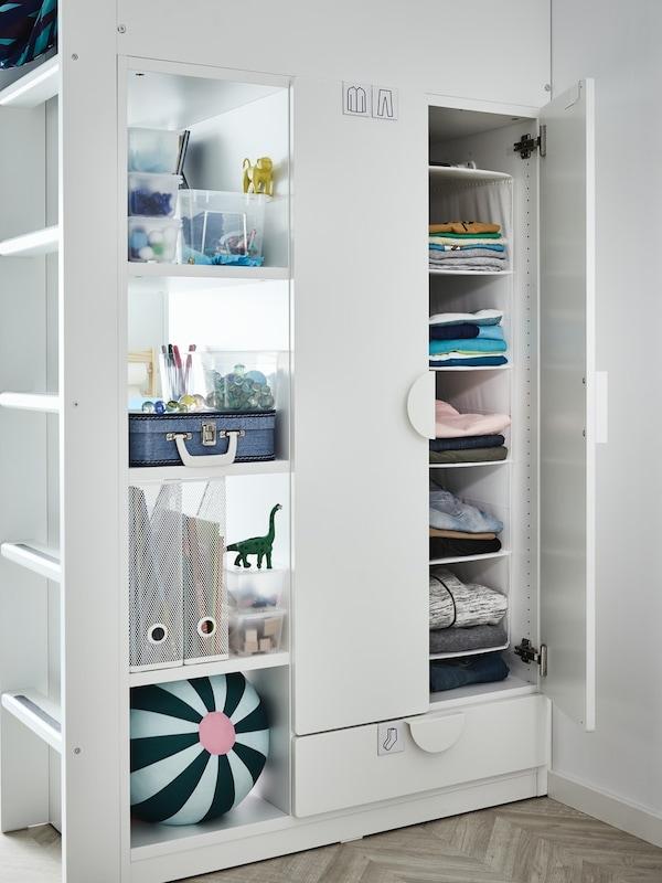 armarios infantiles para decorar el dormitorio