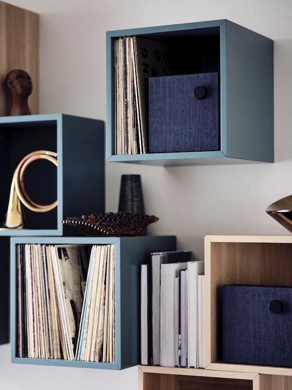 armarios y estantes para ordenar la casa