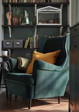 Armchair, Djuparp dark green