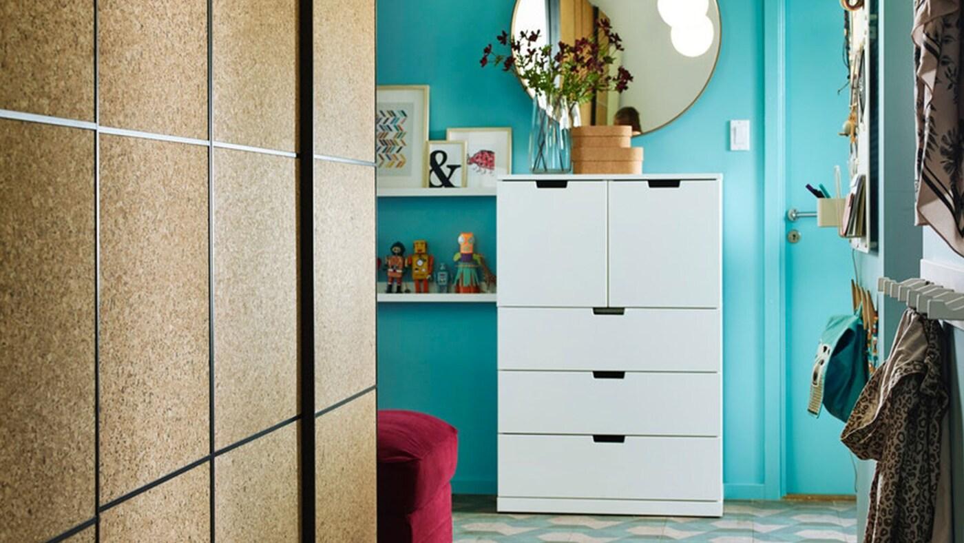 Superieur Entrée. Armoire à Chaussures Blanche IKEA STALL Et étagère à Chaussures  TJUSIG Sont Des Solutions Gain De