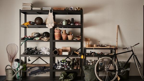 Arrange some heavy metal storage – BROR planner.