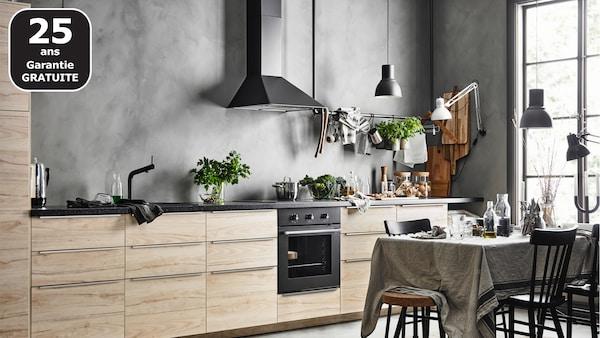 Page finition cuisine ASKERSUND frêne - IKEA