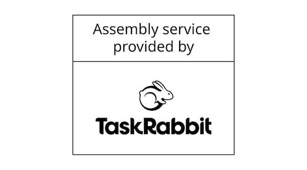 Assembly service provided by TaskRabbit.