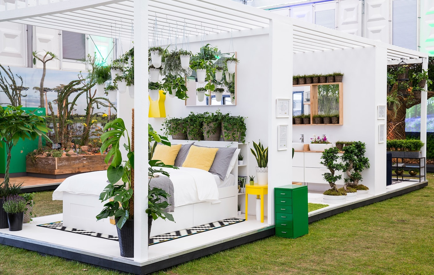 'At Home with Plants' co-created with IKEA and Indoor Garden Design at the RHS Chelsea Flower Show