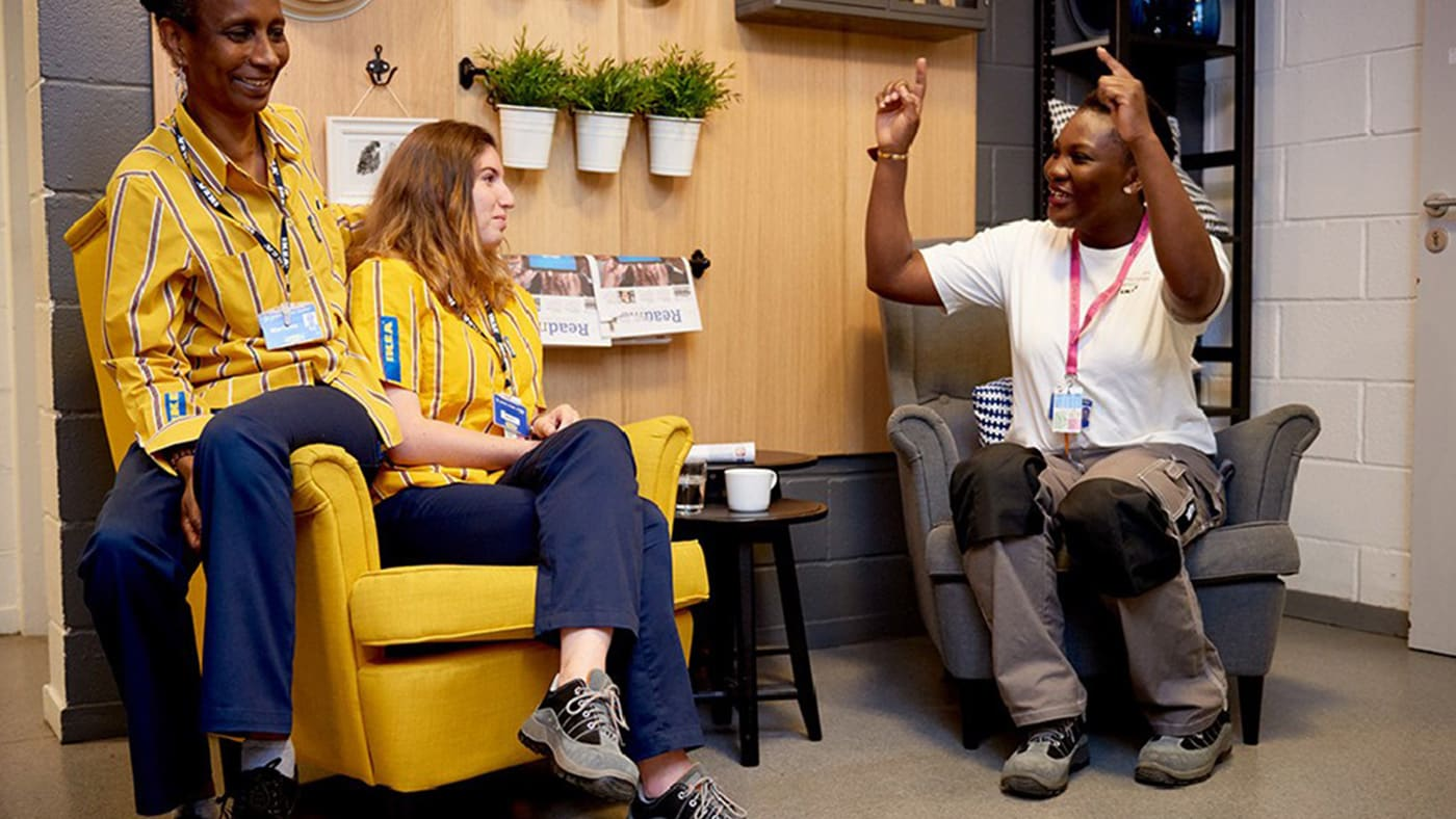 At IKEA, every individual has something valuable to offer. We come from all over the world, but share the same positive attitude and values.