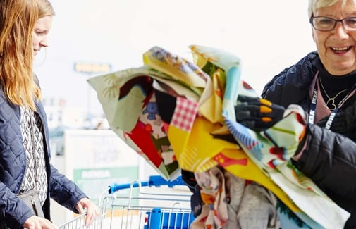 At IKEA, we want to make it easier for our customers to recycle our products and prolong their life.