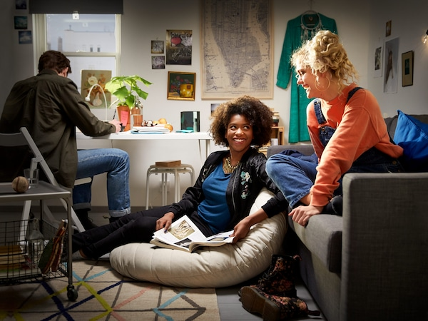 At IKEA, you can find lots of furniture created for small space living.