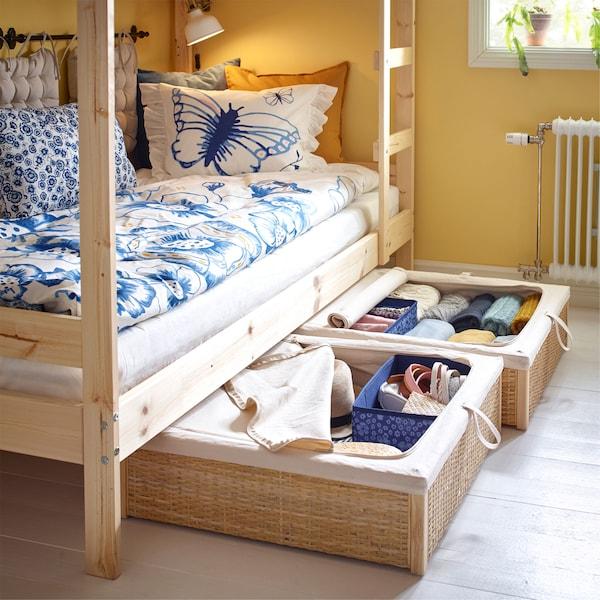 تنفيذ أفكار كبيرة في غرف نوم صغيرة مشتركة Ikea