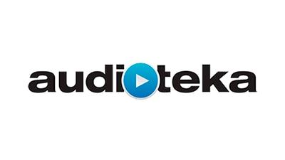 Audiotéka logo.
