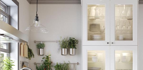 AXSTAD grey kitchen lighting