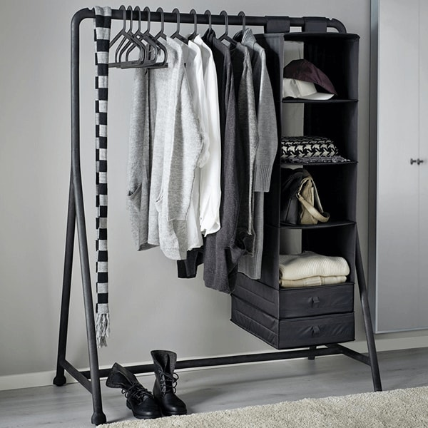 Clothes stands and racks