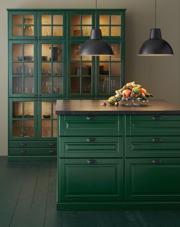 Cucina componibile BODBYN verde - IKEA