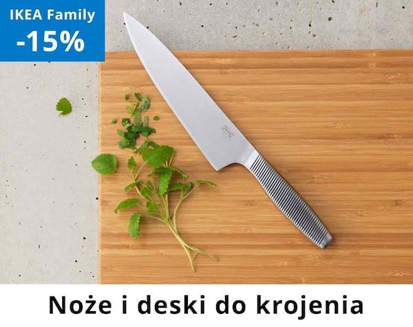 Noże i deski do krojenia