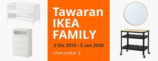 Nikmati Tawaran IKEA Family daripada 2 Dis 2019 ke 5 Jan 2020