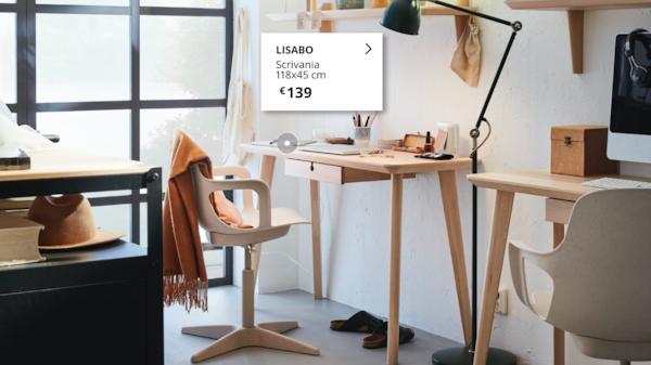 LISABO Scrivania Smartworking
