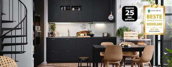 Ikea Eettafel 4 Stoelen.Keuken Inspiratie Voor Je Nieuwe Keuken Ikea
