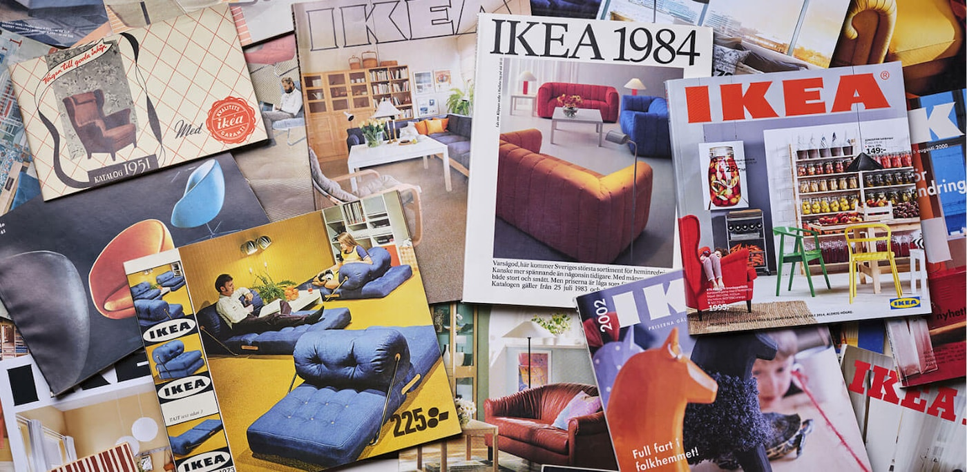 "Linking to Newsroom article ""After 70 successful years, IKEA is turning the page on the Catalog"""
