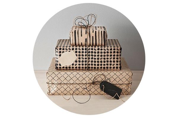 Серия ГИВАНДЕ для стильной упаковки подарков