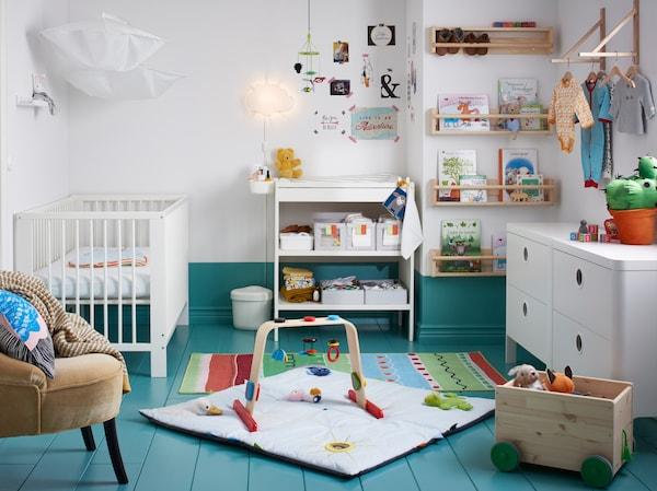 Babykamer - GULLIVER ledikant - IKEA wooninspiratie
