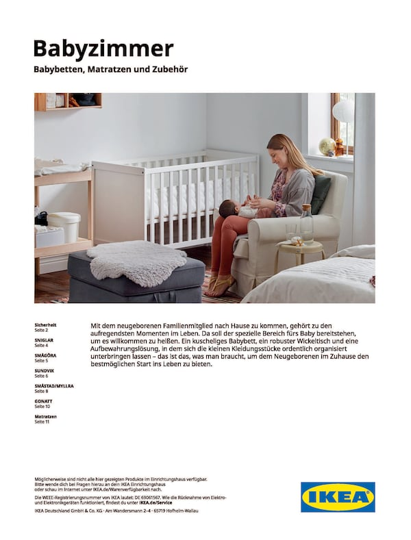 Babyzimmer 2021/2022