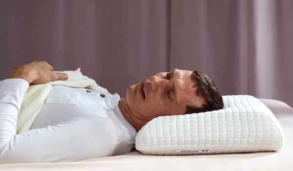 back sleeper IKEA ergonomic pillow