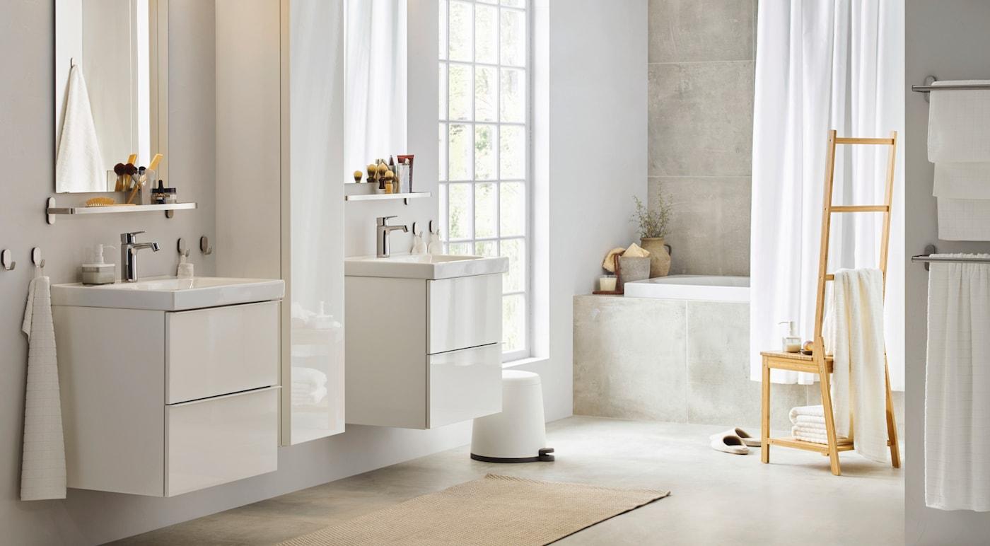 badkamer stijlen inspiratie badkamermeubels ikea