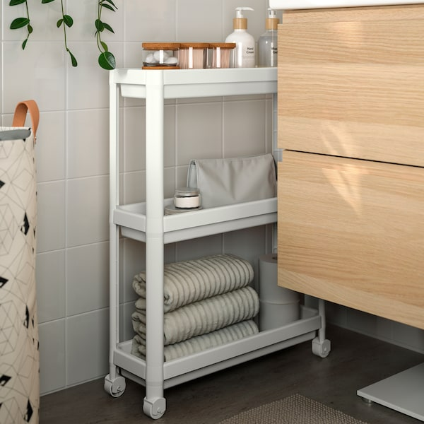 Badkamertips voor het inrichten van een kleine badkamer.
