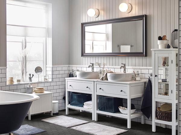 Arredo per il bagno e mobili lavabo ikea for Arredo bagno immagini e prezzi