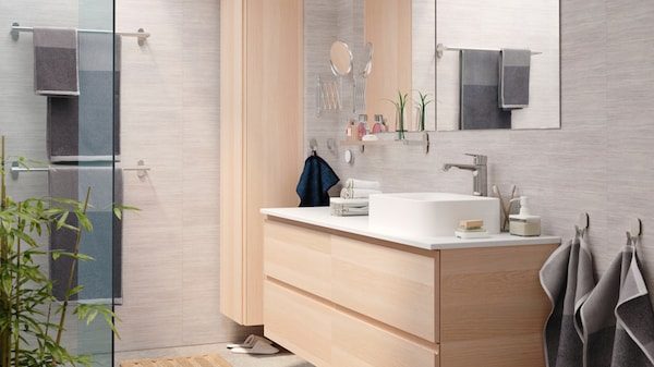 Foto Bagni Moderni In Muratura.Arredo Per Il Bagno E Mobili Lavabo Ikea