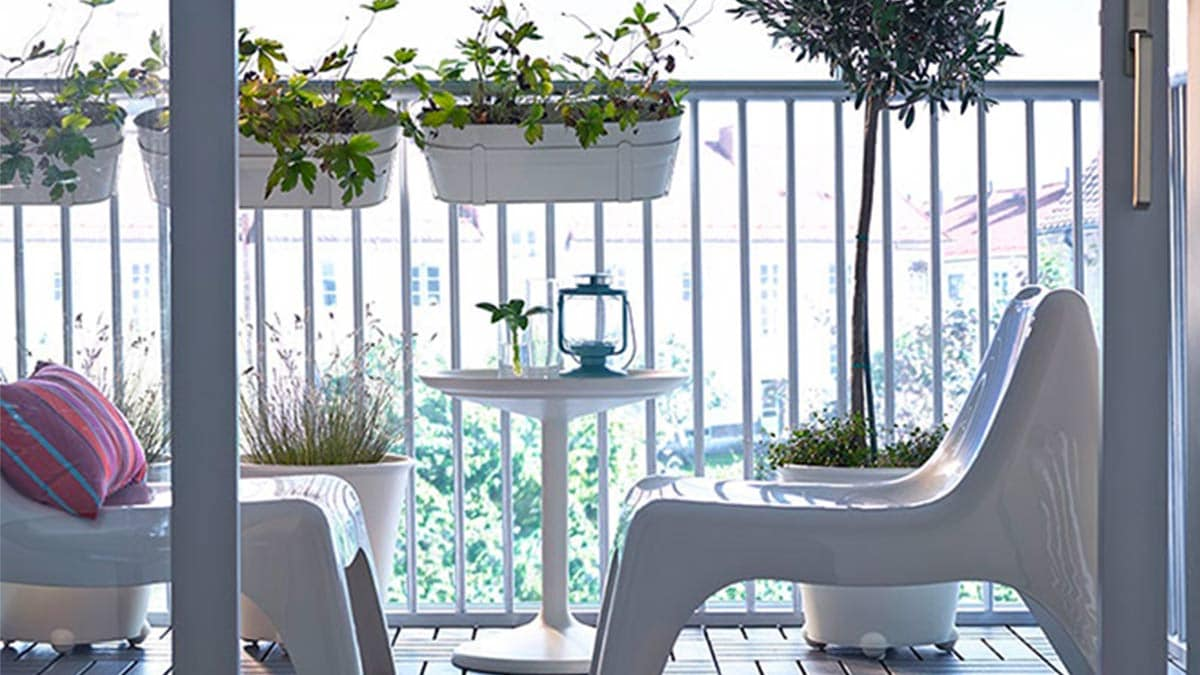 Tavolino Per Balcone Ikea poltrone e tavolino all'aria aperta | esterni - ikea