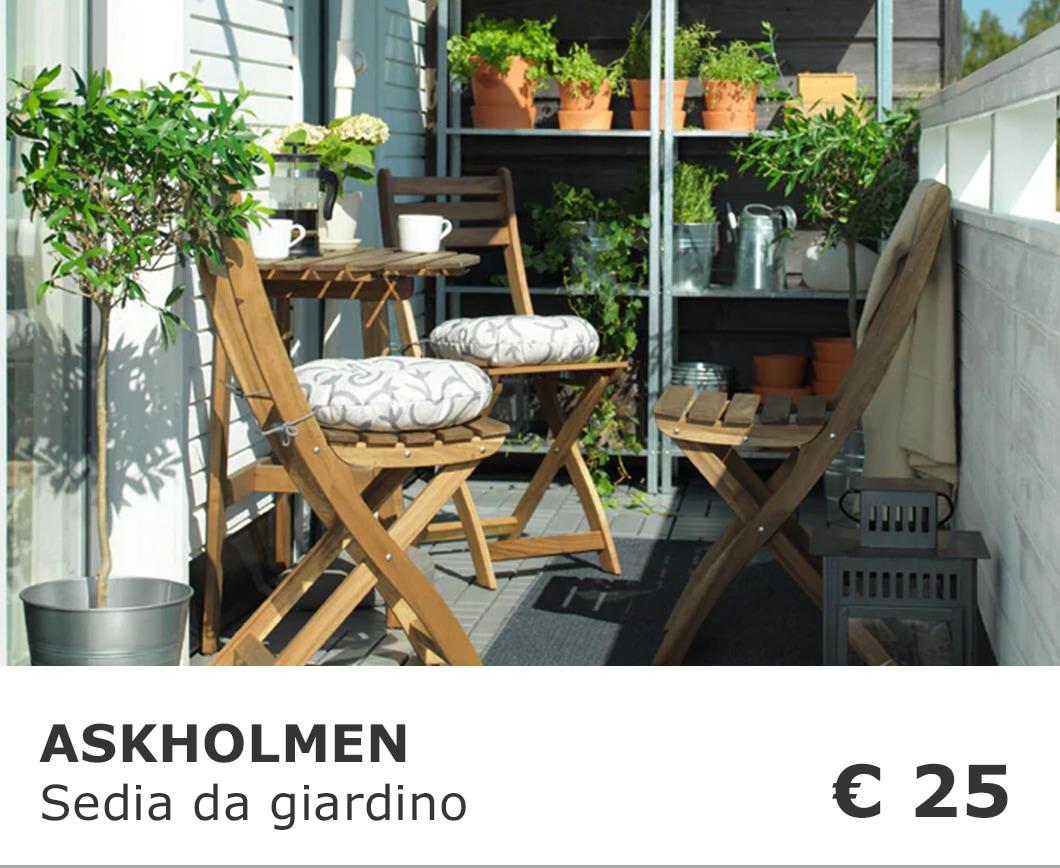 Mobili da giardino e arredamento per esterni ikea