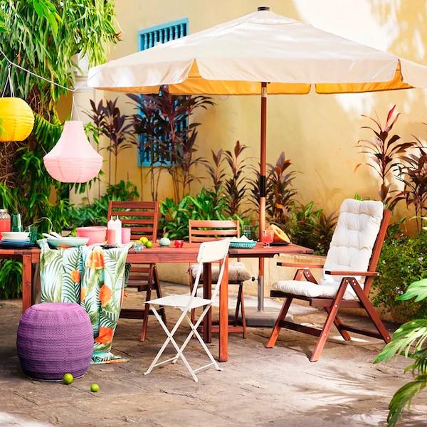 Balcone e giardino a prova di estate