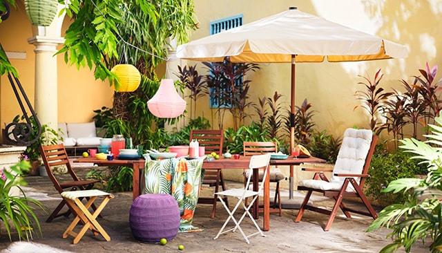 Set Tavolo E Sedie Da Giardino Ikea.Mobili Da Giardino E Arredamento Per Esterni Ikea