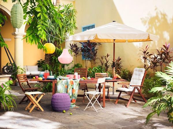 Tavoli Da Giardino In Legno Usati.Mobili Da Giardino E Arredamento Per Esterni Ikea