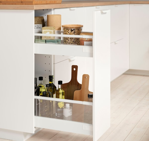 Base cabinet/pullout int fitting