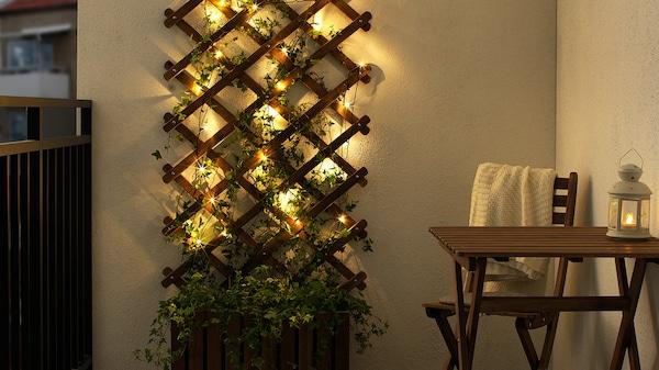 sfeerverlichting kerstverlichting lichtsnoer ikea