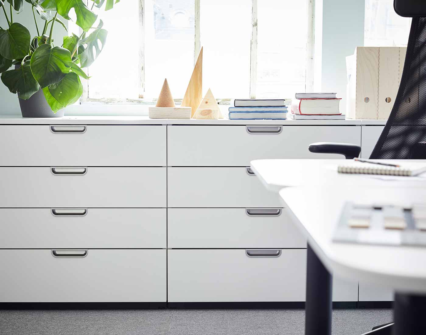 Picture of: Serier Til Kontor Praktisk Opbevaring Og Indretning Ikea