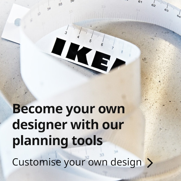 Become your own designer with our planning tools
