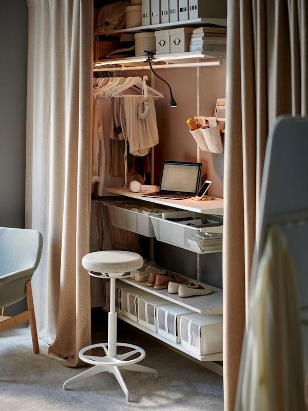 Bedroom home office ideas.
